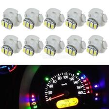 10x White T4 Neo Wedge 3 SMD LED Light A/C Climate Control Lamps Bulb 10mm wedge