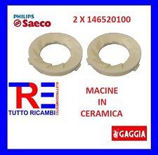 COPPIA MACINE IN CERAMICA PER MACCHINA DEL CAFFE' SAECO PHILIPS GAGGIA 146520100