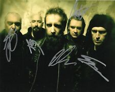 """Paradise Lost band REAL hand SIGNED 8x10"""" photo #3 COA Autographed by 5 members"""