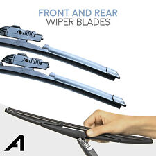 """22"""" + 26"""" Front & 10"""" Rear Wiper Blades Fits Renault Scenic MK2"""