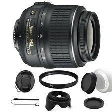Nikon AF-P DX NIKKOR 18-55mm VR Lens for Nikon DSLR Cameras & Accessory Kit