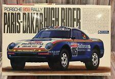 Porsche 959 Rally Paris-Dakar Gunze Sangyo 1:24 Scale Model Kit