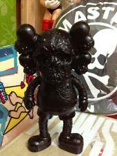 New Arrival OriginalFake KAWS X PUSHEAD 28cm Black Action Figure PVC Kids Toys