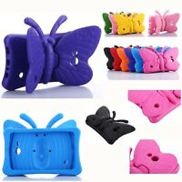 For Samsung Tab 7.0 Kids Safe Shockproof Butterfly Foam EVA Cartoon Stand Case