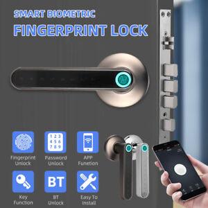 Security Electronic Smart Door Lock Fingerprint Biometric Digital Door Handle