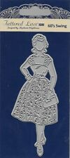 New listing Tattered Lace Cutting Die - 60's Swing Fashion Lady