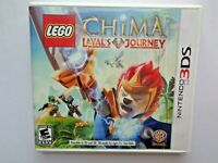 Nintendo 3DS LEGO CHIMA Laval's Journey Case & Manual Only No Game Video Box