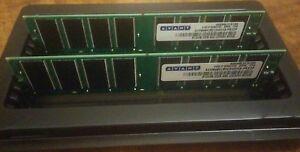 AVANT AVE6464U52C3400K9-PRXDP DDR 400 RAM TWO sticks, 512MB each