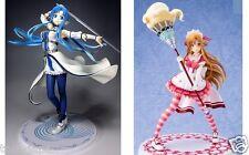 Lot 2 Sword Art Online Figure STAGE1 Asuna Maid World Asuna Ichiban Kuji F/S
