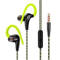 Sport Headphones Waterproof Earphones In-Ear Earbuds HIFI Bass Headset With Mic