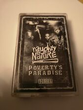 Naughty by Nature  cassette tape - Poverty's Paradise