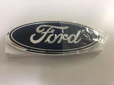 "2011-2016 FORD EXPLORER,EDGE, F-150,250,350  9"" OVAL DARK BLUE GRILLE EMBLEM"