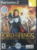 Lord of the Rings: The Return of the King (Sony PlayStation 2 PS2) ✅CIB/Complete