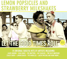 LEMON POPSICLES ~ LET THE GOOD TIMES ROLL NEW 3CD POP AND ROCK ORIGINAL HITS