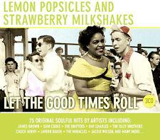 LEMON POPSICLES ~ NEW 3CD POP,ROCK,SOUL AND DOO WOP VINTAGE HITS 1950's &1960's