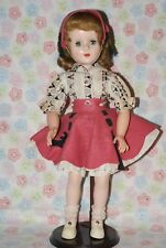 "So Pretty! Vintage 17"" Sweet Sue Hard Plastic & Vinyl Walker All Original Doll"