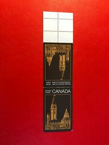 CANADA 1987 MNH BOOKLET PARLIAMENT BUILDINGS 01