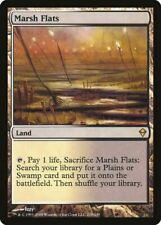 Magic Modern - Foil Marsh Flats - Zendikar - Lightly Played