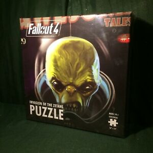FALLOUT 4: Invasion of the Zetans Jigsaw Puzzle (NIB 550 pieces)