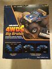 Vintage 1985 NIKKO 4WD Big Brutus 1/16 4x4 4 wheel steering, winch , manuals box