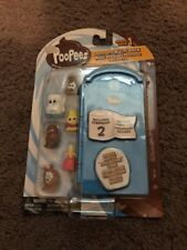 Basic Fun Poopeez Series 1 Porta Potty Multi Pack Squishy Collectible Toy