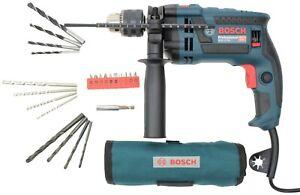Bosch Professional Schlagbohrmaschine »GSB16 RE« 230 V, (Set), 750W mit Zubehör