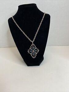 Vintage Turquoise & Hermatite Necklace Avon