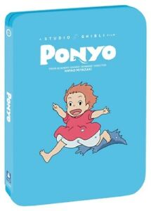 PONYO New Sealed Blu-ray + DVD Studio Ghibli Limited Edition Steelbook