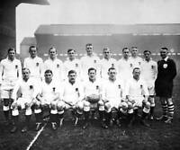 OLD LARGE PHOTO RUGBY UNION TEAM, the 1936 England team