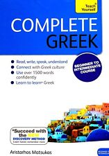 Teach Yourself Complete Greek with 2 CDs by Aristarhos Matsukas