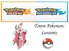 Pokemon Ultra Sun and Moon Totem Pokemon Lurantis