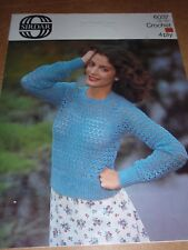 4 Sizes LADIES ELEGANT CARDIGAN 2 Styles BK12 KNITTING PATTERN