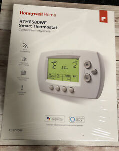 Honeywell Home Wi-Fi 7-Day Programmable Smart Thermostat w/Digital Display Seald