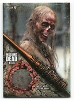 Walking Dead Season 8 Part 1 WALMART WALKER COSTUME RELIC Trading Card WR-2