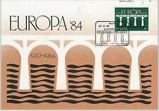 57484  -  MALTA  - POSTAL HISTORY: MAXIMUM CARD 1984 -  EUROPA