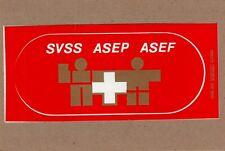ADESIVO VINTAGE STICKER KLEBER svizzera  svss asep asef