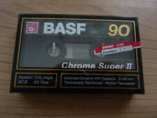 BASF CHROME SUPER 90 audiokassette cassette audio tape sealed