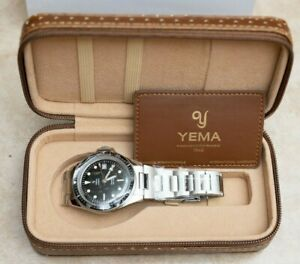 New Yema Superman Heritage Stainless Steel Bracelet YSUP2018A-AMS 39mm