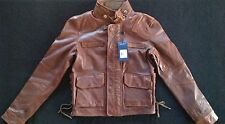 NWT | POLO by RALPH LAUREN Women's 100% Leather Jacket Sz 2 | MSRP $998 | NICE