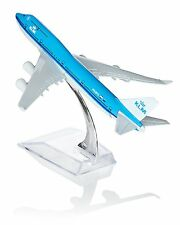 16cm Airbus KLM 747 Metal Desk Aircraft Plane Model UK fast dispatch