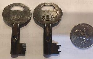 CORBIN Signal / Special Purpose keys QR1579 / SJ595 OLD