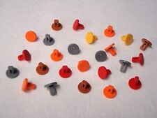 25 KNEX Track Connector Pegs Pins K'nex Mario Kart Replacement Parts/Pieces Lot