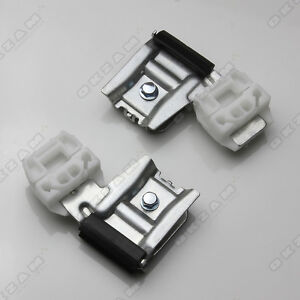 WINDOW REGULATOR REPAIR CLIPS WITH METAL HOLDER FOR VW T5 2003-2013 FRONT RIGHT