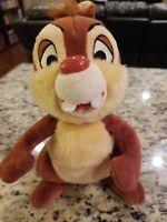VINTAGE Disneyland Disney's Chip And Dale Plush Toy Stuffed Animal Chipmunk DALE