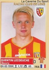 133 QUENTIN LECOEUCHE # RC.LENS ROOKIE STICKER PANINI FOOT 2015