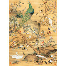 Wooden Jigsaw Puzzle 500 PCS Birds Shen Quan Chinese Painting Masterpieces Decor