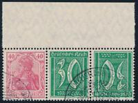 DR 1921, MiNr. WK 4, sauber gestempelt, Attest Weinbuch, Mi. 800,-