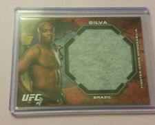 #4/8 Anderson Silva Rare Ruby Jumbo Gear Card 2013 Topps Bloodlines UFC MMA