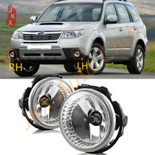 LH+RH Fog Lights Front Bumper Lamps Replacement k For Subaru Forester 2009-2013