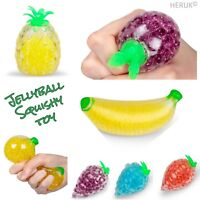 Jelly Ball Fruit- Ball Stress  Relief  Toy  Squeezy  Squishy  SQUASHY TROPICAL